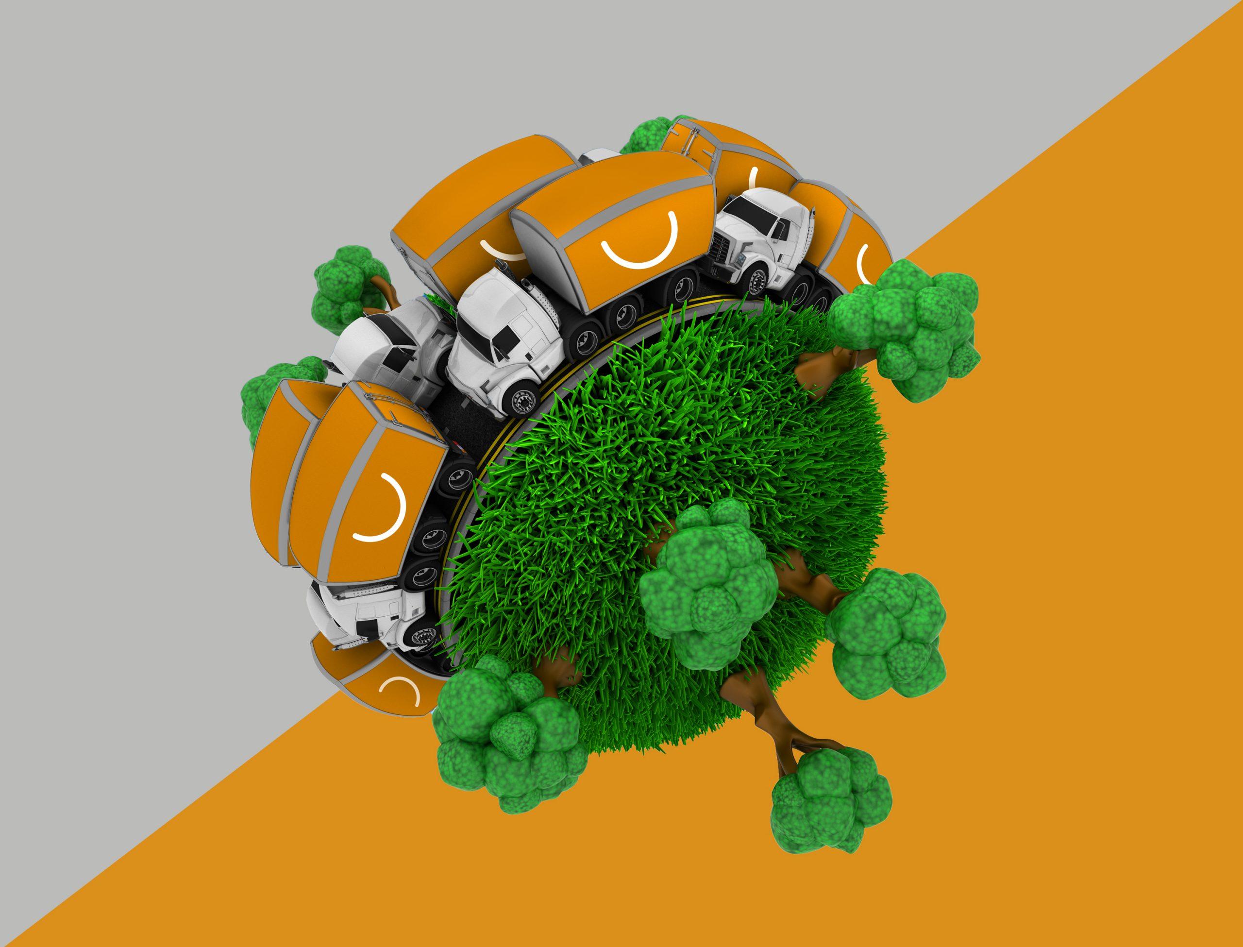Ventajas del transporte terrestre
