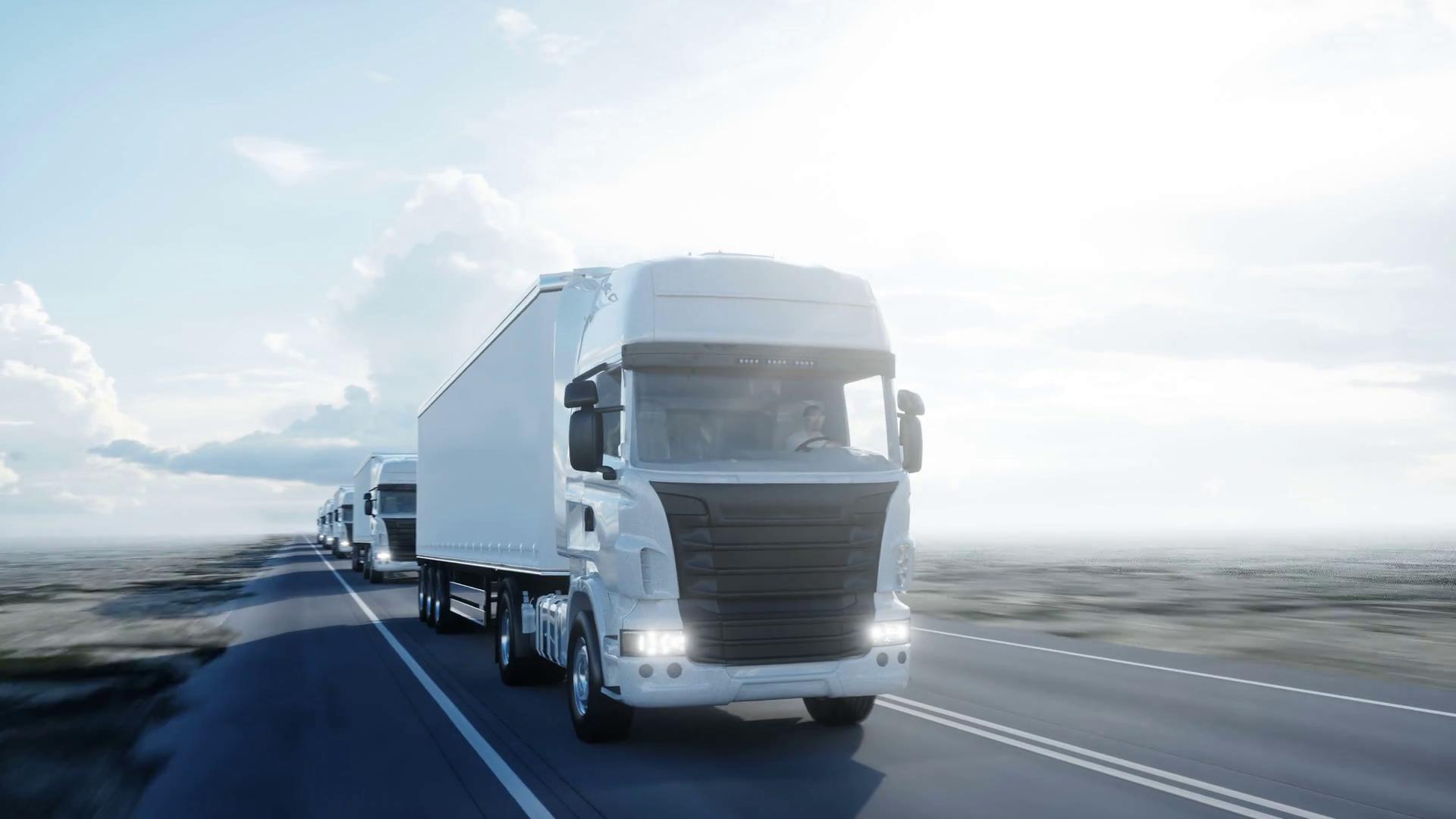 Qué tipos de camiones operan para el transporte terrestre